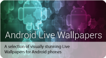 Android Live Wallpapers quick pack image